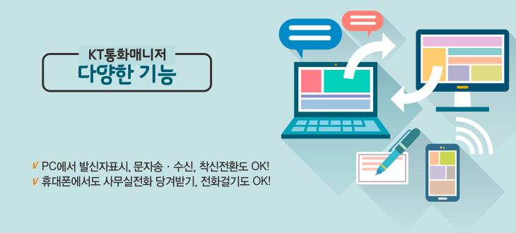 스마트비즈폰 통화,문자메시지,팩스, 스마트폰과 연동서비스 제공